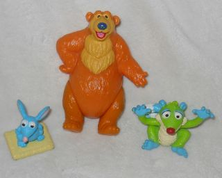 Bear in The Big Blue House Figures Tutter Treelo