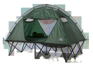 Kamp Rite Double Tent Cot With Rain Fly