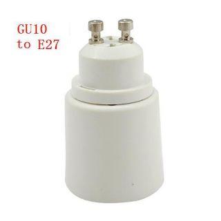 Lot 20pcs GU10 to E27 LED Light Lamp Bulbs CFL Extend Socket Converter