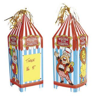 Carnival Big Top Tent Circus Birthday Party Decorations Table