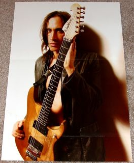 NUNO BETTENCOURT EXTREME SIGNATURE WASHBURN N4 TRIBUTE POSTER