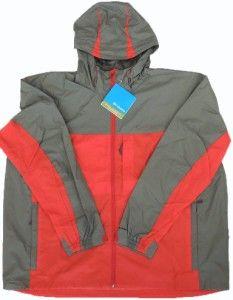 Columbia Sportswear Big Creek Falls Rainshell Jacket Big Tall Men 3X