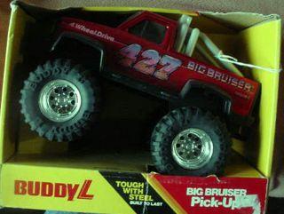 NRFB 1984 BUDDY L BIG BRUISER PICK UP 9001 RED w 427 MINT in box MADE