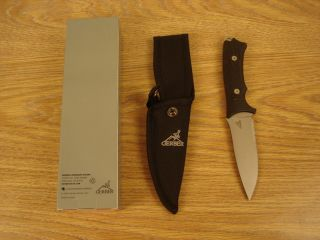 Gerber New Big Rock Camp Knife Fixed Blade 22 01588
