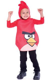 Angry Birds Red Bird Toddler Costume (3T 4T) Size3T 4T