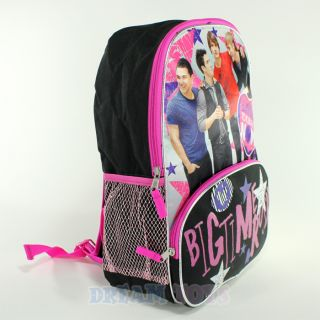 Nickelodeon Big Time Rush 16 Large Backpack Kendall James Carlos