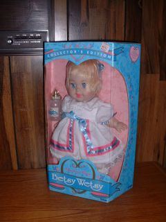 Betsy Wetsy Doll Tyco 1996 Collectors Edition NIB NRFB