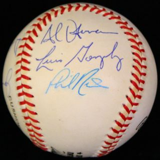 Jeff Bagwell Craig Biggio Signed ONL Baseball Autographed Astros