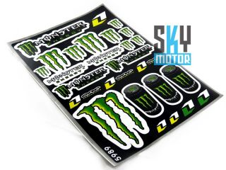 Decal Sticker ATV Dirt Bike Off Road Honda Yamaha KTM CRF50 XR50 110