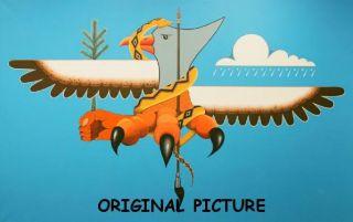 Thunderbird Mural Cross Stitch Pattern Native American