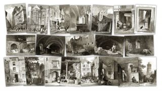 Vestiges of Old London 20 7x5 Prints J w Archer