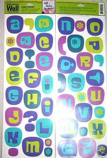 Super Bubble ABC Letters Decal Wall Stickers FreeSh
