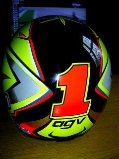 Max Biaggi Replica Helmet 1996 Aprilia X Small 53cm WSB Moto GP