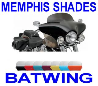 MEMPHIS SHADES COMPLETE BATWING FAIRING HARLEY SOFTAIL FLST HERITAGE