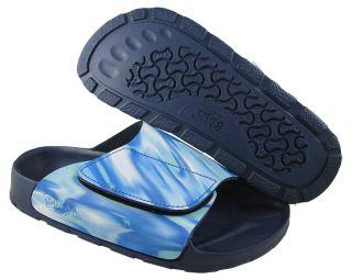 New Birkis Womens Samoa Watertranslution Blue sandals US 5 NIB