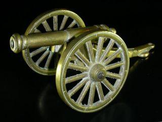 Antiguo Cañon de Bronce Siglo XX 850 GR Pieza Coleccion