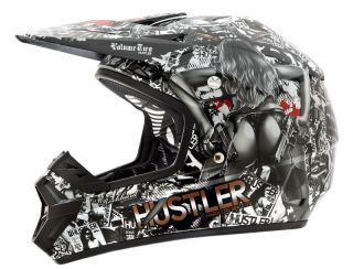 Rockhard Hustler Volume 2 Dirt Bike Motorcycle Helmet
