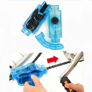 Cycling Bicycle Chain Cleaner Machine Bike Lubricant Tool KIT Tools