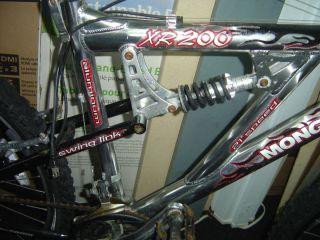 XR 200 FULL SUSPENSION ALUMINUM BIKE PARTS COMPLETE BIKE BICYCLE XR200