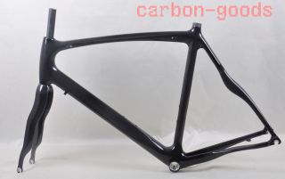 Full Carbon Frame Road Bike Frameset Racing Bicycle Frame 3K Glossy