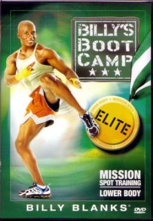 Billy Blanks Bootcamp Elite Mission Spot Training Lower Body DVD Boot