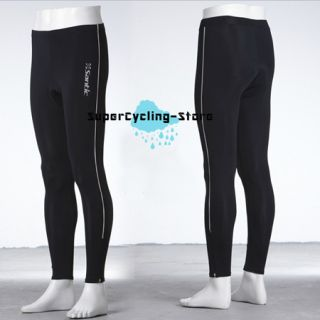 2012 New Bicycle Cycling Bike Tights Long Trousers 3D Gel Padded Pants