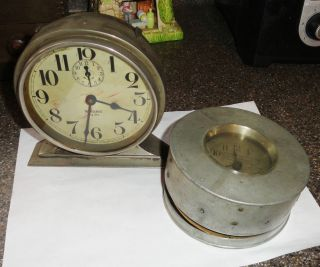 BIG BEN CLOCK RUNNING / ONE NEWMAN CLOCK CO. WATCHMANS CLOCK PARTS