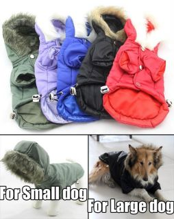 Pet Clothing Dog Coats for Small Large Big Dog Winter Clothes Hoodie 5