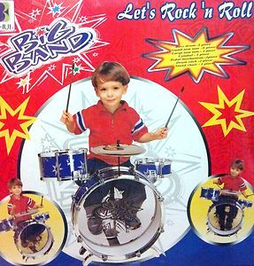 BIG BAND DRUM SET Rock & Roll KIDS Children Toddler Boys Girls PLAY