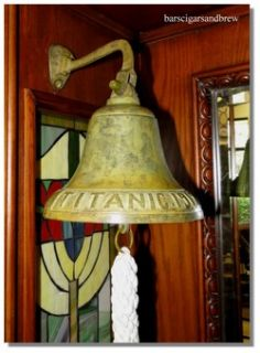 Solid Brass Bell Titanic Nautical Big Bar Decor SHIPs Captain Mate
