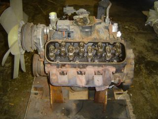 Big Block Chevy Chevrole 366 10114183 Complee Engine 4REBUILD Good