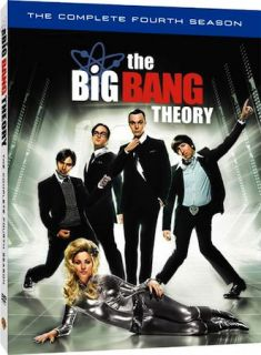 new the big bang theory the complete season 4 genuine