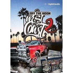 Big Fish Audio Off The Hook Hip Hop West Coast 2 Loops Samples New