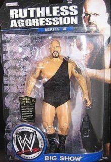 Big Show Ruthless Aggression 36 WWE Jakks Wrestling Action Figure Toy