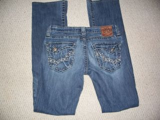 BIG STAR ~ SWEET Ultra Low Rise Boot Stretch 26XL ~ EXCELLENT