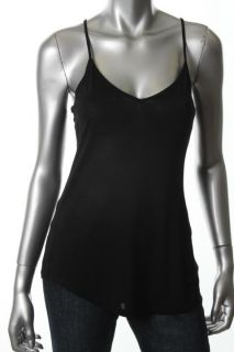 Daniel Rainn New Black V Neck Spaghetti Strap Cami Tank Top Shirt L