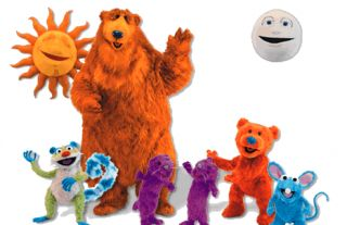 Henson Co Nick Jr Bear in The Big Blue House Talking Sniffing