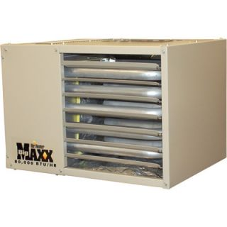 NEW Big Maxx Natural Gas Garage/Workshop Heater 80,000 BTU