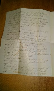 1863 Liberty San Joaquin California Pitch Fork Castration 3 PG Letter