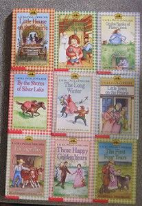 Little House On The Prairie Lot Laura Ingalls Wilder  9 Book Boxed Set