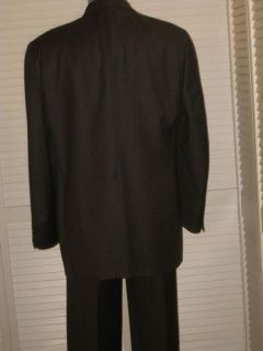 Vtg Graham Gunn Big Tall Mens Plaid Wool Sport Coat Jacket Blazer 48L