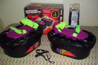 Gravity Jumping Mini Trampoline Toy Moon Shoes by Big Time Toys