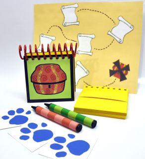 Blues Clues Handy Dandy Treasure Notebook Dry Erase Treasure Map