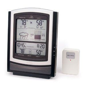 Big Screen and Sensor Wireless Weather Station 01097