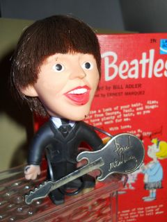 Vintage Beatle Remco Paul McCartney Doll and Collectors Dear