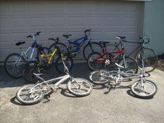 BIKE LOT, ROAD,MOUNTAIN,BMX BIKES,MONGOOSE,ROADMASTER,NEXT,LOCAL PICK
