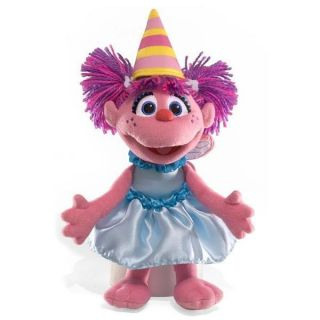 Gund Sesame Street Happy Birthday Abby Cadabby 9 Plush New
