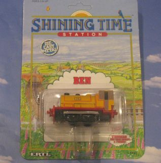 BEN NEW Thomas Tank Engine Train Ertl 1992 Diecast Shining Time