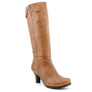 Biviel BV2697 Womens Size 7 5 Brown Leather Fashion Knee High Boots EU