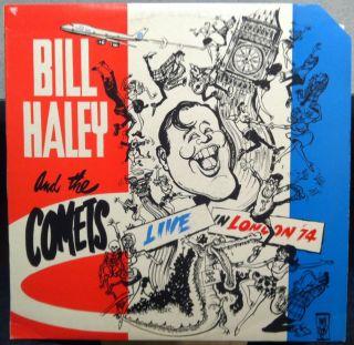Bill Haley Comets Live in London 74 K 51501 LP A1 B1